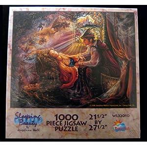 "1996 Sunsout, Inc. Sunsout Josephine Wall/Art Impressions, Inc. Sleeping Beauty By Josephine Wall 1000 Piece Jigsaw Puzzle 21 1/2"" By 27 1/2"" #WL32010"