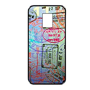 Vibhar printed case back cover for Samsung Galaxy S5 Postcard