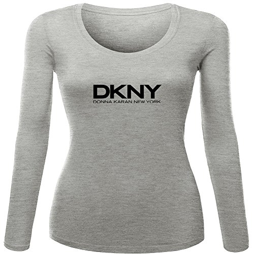 Donna karan long sleeve Tops T shirts -  Maglia a manica lunga  - Donna Gray XX-Large