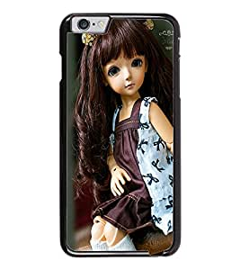 PrintDhaba Cute Doll D-1031 Back Case Cover for APPLE IPHONE 6 (Multi-Coloured)
