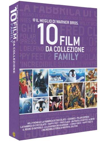 Il meglio di Warner Bros. - 10 film da collezione - Family [Blu-ray] [IT Import]