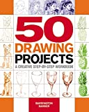 img - for 50 Drawing Projects: A Creative Step-by-Step Workbook book / textbook / text book