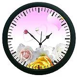 meSleep Love Heart 3D Wall Clock (With Glass)