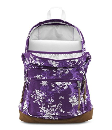 Jansport Right Pack Expressions Vivid Purple Floral Toile TZR606E