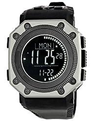 Emporio Armani Men's AR7201 Digital Black Dial Watch