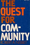 Quest for Community (Galaxy Books)