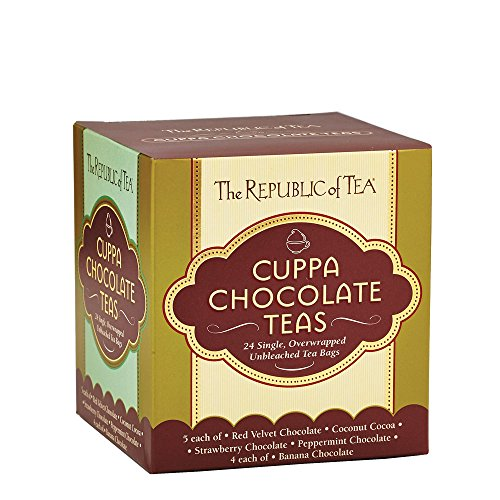 The Republic Of Tea Cuppa Chocolate Tea Assortment, 24 Tea Bags