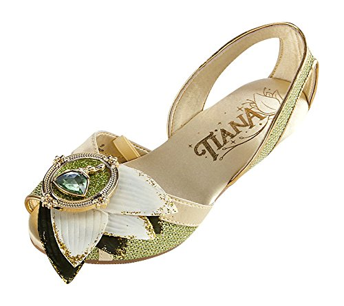 Princess Tiana Shoes: Disney Store Deluxe Tiana Costume Shoes Princess And The