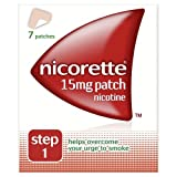 Nicorette 15mg Nicotine Patch - Step 1- box of 7 patches.