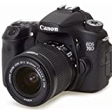 Canon EOS 70D DSLR Camera with 18-55mm IS STM and 55-250mm IS STM Lenses