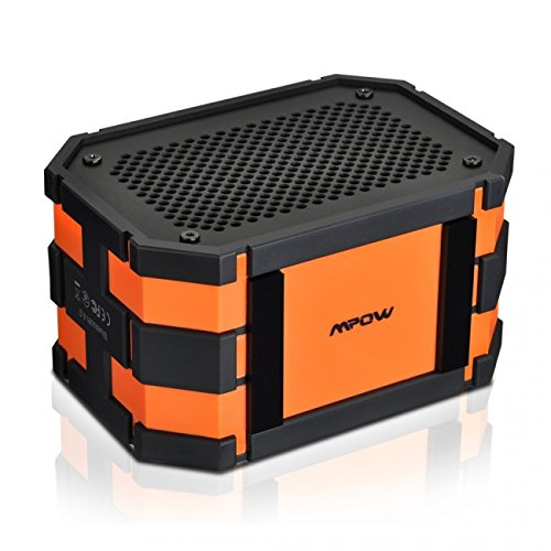 Mpow Armor Portable Wireless Bluetooth Speakers with Additio