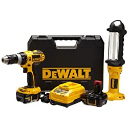 DEWALT Hammer-Drill Combo Kit with Instant $25 Off at Checkout