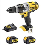 Dewalt DCD985 DCD985N 18V Xr Li-Ion 3 Speed Xrp Combi Drill, 2 DCB180 Batteries And 240V DCB105 Charger