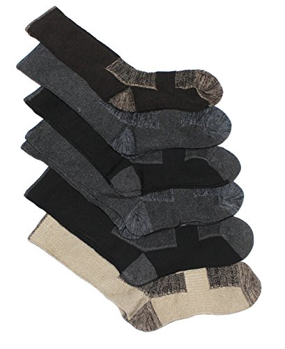 Field & Stream Men's 6pk Outdoor Performance Socks (Assorted) (Deli Shoes compare prices)