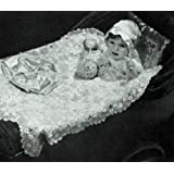 CROCHETED CARRIAGE COVER - A Vintage Crochet Pattern from the Mid 1900's Kindle Ebook Download (Baby, Babies, Infant, Stroller, Blanket, Wrap, Shower Gift, ... Bedding, Yarn, Crafts, Old-Fashioned) ~ Northern Lights Vintage