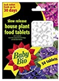 Baby Bio Slow Release House Plant Food Tablets Pack Of 50