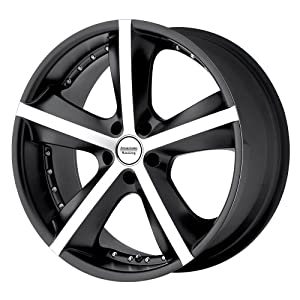 "American Racing Phantom AR882 Matte Black Machined Wheel (18x8""/5x115mm)"