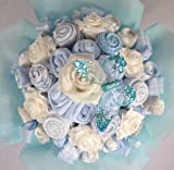 Baby Boy Clothing Bouquet Baby Shower Gift (3-6 Months)