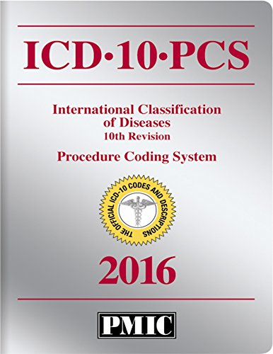 Details of icd 10 pcs 2016 official codes book
