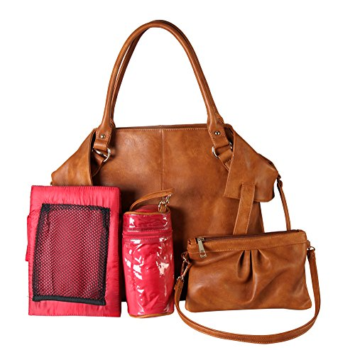 diophy-pu-leather-bag-in-bag-tote-diaper-bag-with-baby-changing-pad-and-bottle-insulation-bag-mm-350