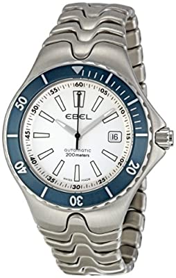 Ebel Men's 1215463 Sportwave Silver Dial Watch