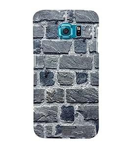EPICCASE blue brick wall Mobile Back Case Cover For Samsung Galaxy S6 Edge Plus (Designer Case)