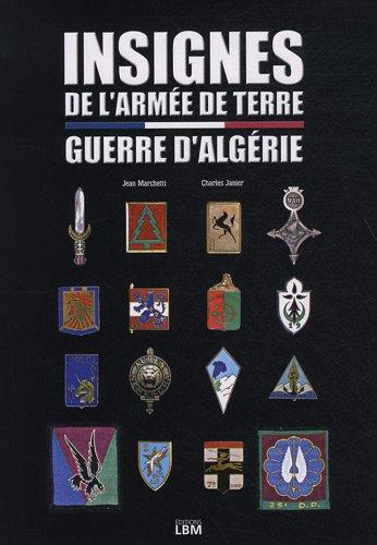 Insignes de l'armée de terre : Guerre d'Algérie