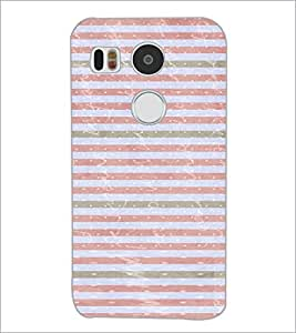 PrintDhaba Pattern D-3480 Back Case Cover for LG NEXUS 5X (Multi-Coloured)