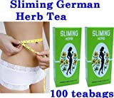 100 tea bags German Herb Sliming Diet fit Slimming Fast slim detox lose weight.