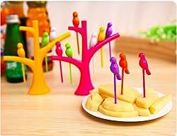 Tuzech Bird Fork Set of 6 forks