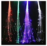 6-pack Light-up Fiber Optic Led Hair Lights (14