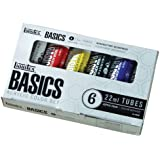 Liquitex Basics Acrylic Paint Tubes - 6 Colors