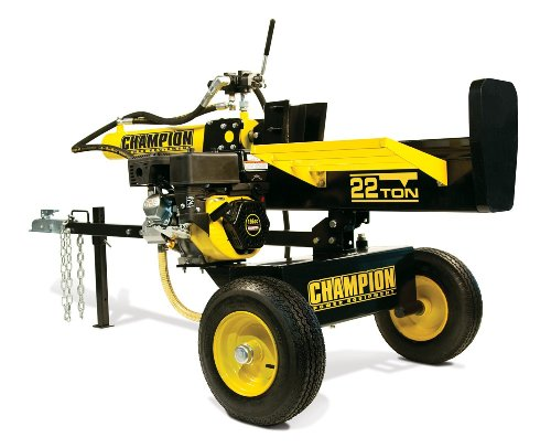 Check Out This Champion Power Equipment No.92221 Gas Powered Log Splitter, 22-Ton