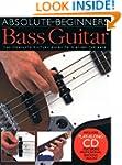 Absolute Beginners Bass Guitar (Book...