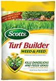 Scotts Turf Builder Lawn Food - Weed and Feed, 15,000-sq ft (Lawn Fertilizer plus Dandelion & Weed Killer) (Not Sold in Pinellas County, FL)