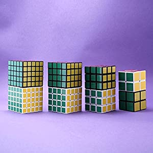 JohnsDollarStore 8 Sets of Cube Puzzle White & Black