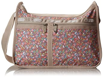 LeSportsac Deluxe Everyday Handbag,French Meadows,One Size