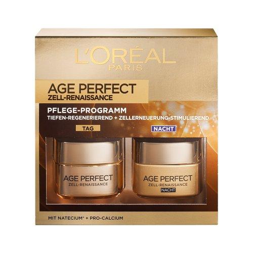 L'Oréal Paris Age Perfect Zell-Renaissance Tages- und Nachtcreme Coffret, 1er Pack (1 x 2 Stück) thumbnail