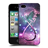 Head Case Love Infinity Collection Snap-on Back Case Cover For Apple iPhone 4 4S