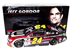 AUTOGRAPHED 2014 Jeff Gordon #24 AARP Drive to End Hunger (New) Lionel 1 24 SIGNED... by Trackside Autographs