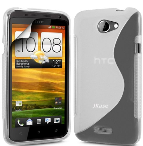 Jkase(Tm) Premium Quality Htc One S (T-Mobile) Streamline Tpu Case Cover - Clear In Jkase Retail Packaging