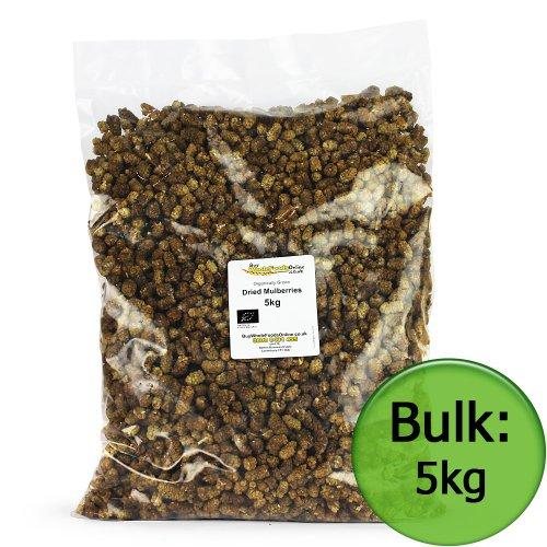 Organic Dried Mulberries 5kg