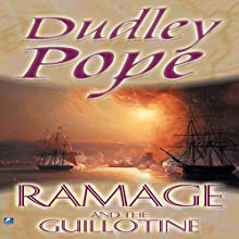 Ramage and the Guillotine (       UNABRIDGED) by Dudley Pope Narrated by Steven Crossley