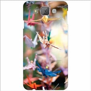 Samsung Galaxy E7 Back Cover - Droplets Designer Cases