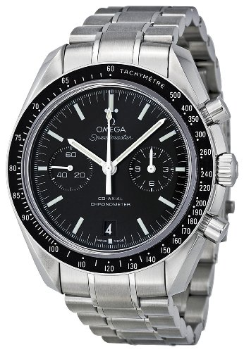 51lN4hQYDoL Omega Mens 311.30.44.51.01.002 Speedmaster Moon Black Dial Watch