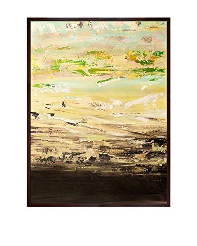 Lisa Carney Avr0312 Framed Hand-Painted Reproduction