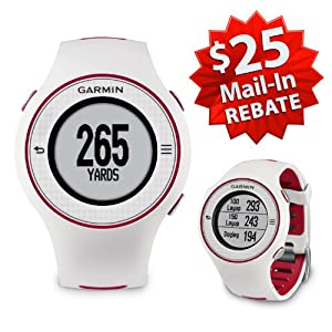 Garmin Approach S3 Golf GPS Watch (NEW VERSION w/ $25 Rebate) | 60-Day Buy & Try Return Policy! (White)