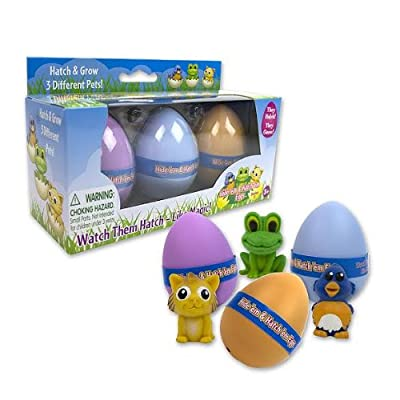 Easter Eggs - Hide 'Em and Hatch 'Em Eggs (Series 2) - Watch Them Hatch Like Magic Three Different Pets! from SCS Direct
