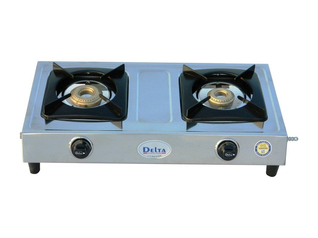 Delta 2105 Stainless Steel 2 Burner Gas Cookt..