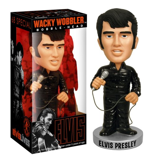 Elvis 68 - Black Suit Wacky Wobbler